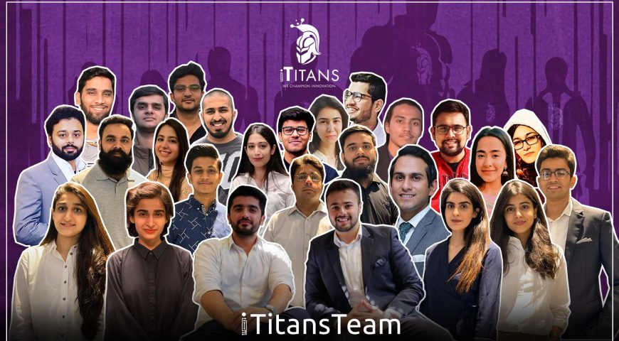 iTitans launched their Meet the Titans Team Video