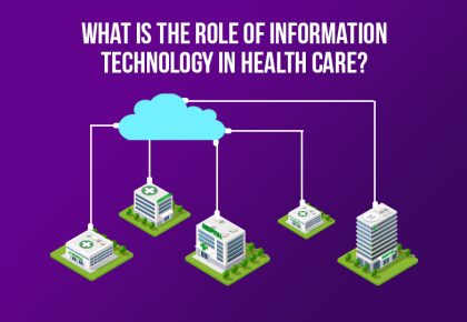What is the role of Information Technology in Health Care?